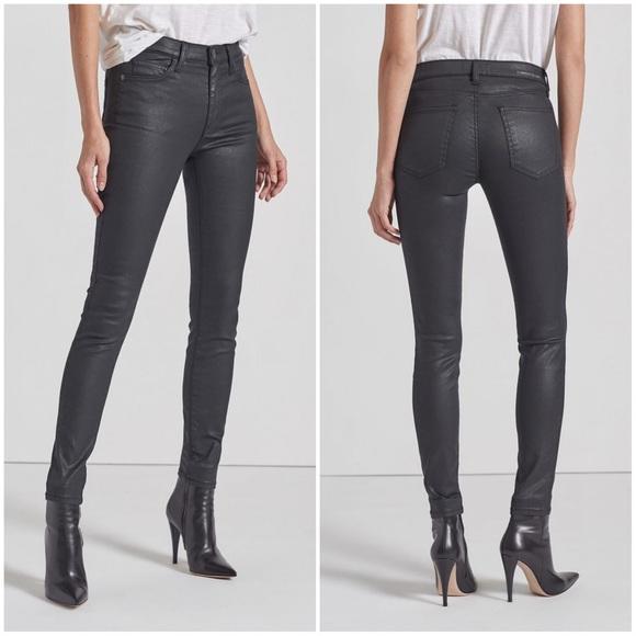 Current/Elliott Sandy Coated Jeans